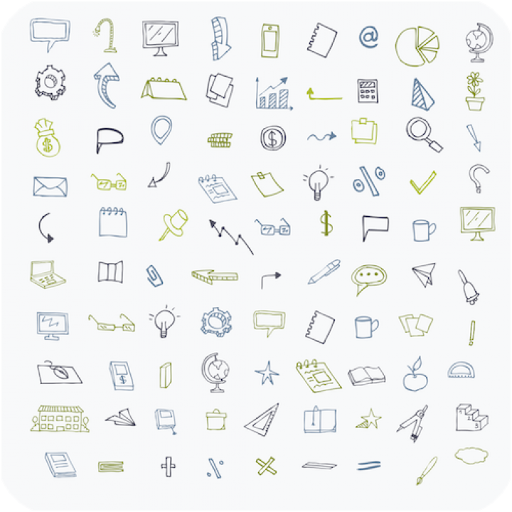 PowerPoint - Hand Drawn Icons