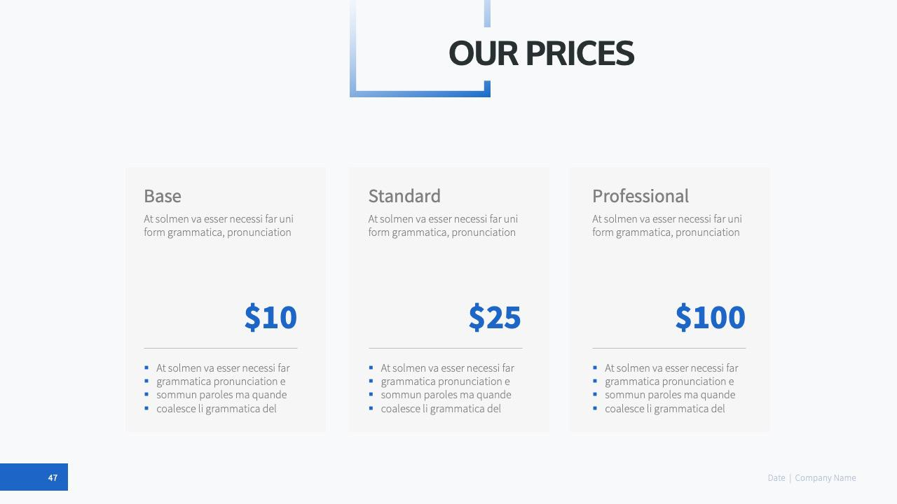PowerPoint Company Template