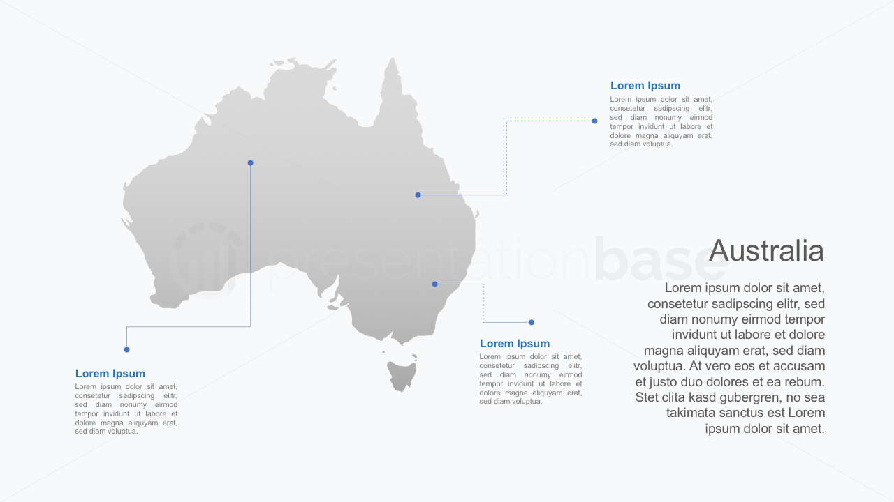 PowerPoint Map - Australia