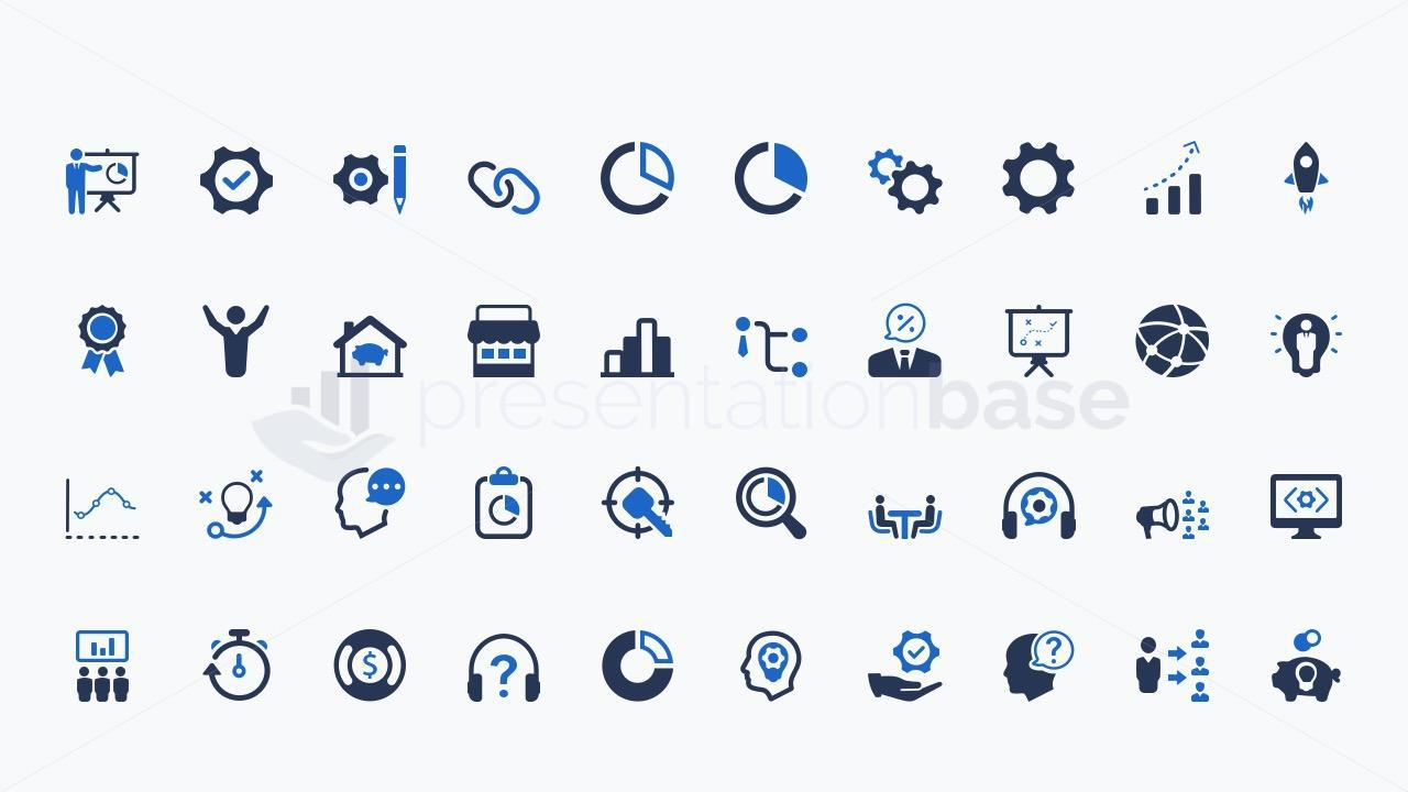 Keynote - Business Icons
