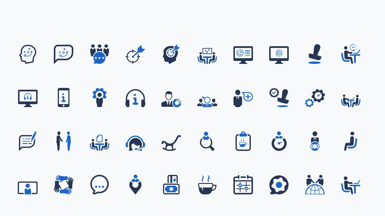 PowerPoint Business Icons