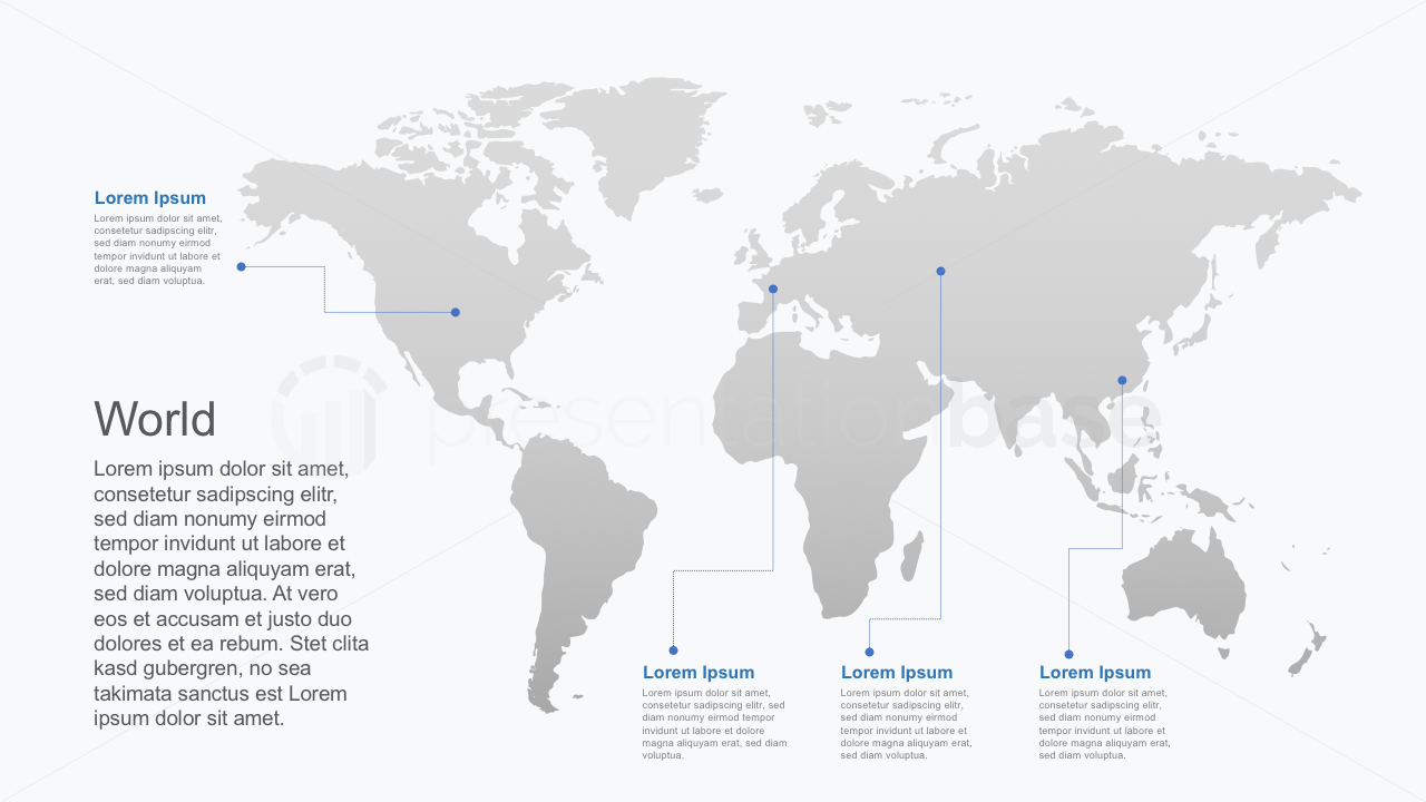 PowerPoint Map - World