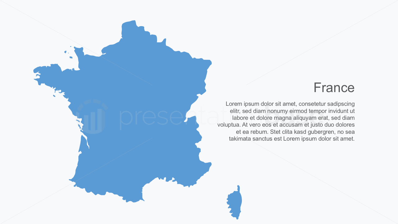 PowerPoint Map - France